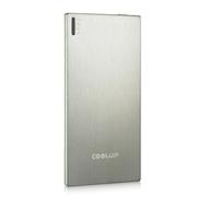 酷胜(COOLUP) 轻便 5.8mm超小超薄聚合物移动电源 迷你移动电源 3500毫安 手机平板通 银色