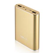 酷胜(COOLUP) Power Plus 移动电源 13000毫安 智能速充 双USB接口 超大容量 金色