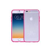 AINY爱尼 iphone6清水套 玫瑰红