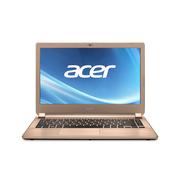 宏碁 V5-452G 85554G50amm 14英寸笔记本电脑(A8-5557M/4G/500G/HD8750M 2G独显/Win8.1)香槟金