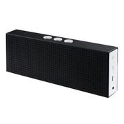 apphome 无线蓝牙音箱迷你便携式立体低音炮通话重低音MP3平板笔记本电脑MP4手机通用 黑色