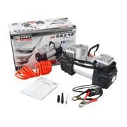 非常爱车 1363-L1 大功率双缸金属轮胎充气泵 带高亮LED灯轮胎充气泵 点烟器取电