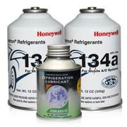 霍尼韦尔 冷媒R134a 环保雪种 购买三瓶以上送开瓶器 空调制冷剂 2瓶冷媒+1瓶ICI冷冻油