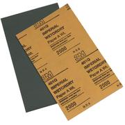 3M 汽车补漆专用美纹砂纸1500目打磨粗砂纸皮细砂子2000号 2000#