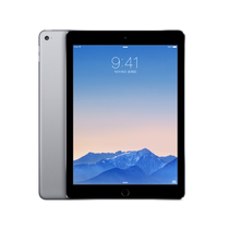 苹果 iPad Air2 MGL12CH/A 9.7英寸平板电脑(苹果A8X/1G/16G/2048×1536/iOS 8.1/深空灰色)产品图片主图
