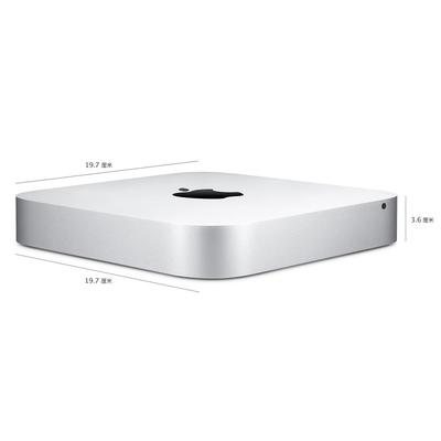 苹果 Mac mini 2014款 MGEM2CH/A 无显示器台式机(1.4GHz双核i5/4G/500G/HD5000核显/OS X Yosemite)产品图片2