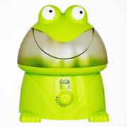 哥尔 GO-2003 卡通青蛙加湿器 超声波加湿器 3.8L大水箱 正品静音 绿色+1精油+1除垢剂