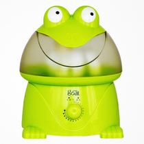 哥尔 GO-2003 卡通青蛙加湿器 超声波加湿器 3.8L大水箱 正品静音 绿色+1精油+1除垢剂产品图片主图