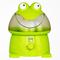 哥尔 GO-2003 卡通青蛙加湿器 超声波加湿器 3.8L大水箱 正品静音 绿色+1精油+1除垢剂产品图片1