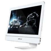 杰灵 21.5英寸一体电脑(H61 G2030 4G 500G wifi) 500G+SSD32G固态炫白