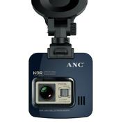 ANC 奥尼1296P超高清行车记录仪停车监控前车道偏离预警 藏蓝色 安霸A750升级版+8G卡