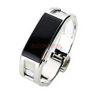 爱探客 爱探客 智能手环手镯钛合金蓝牙智能手表 适用于三星/苹果/小米/htc/华为 D8 爱探客D8银色