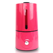 莱弗凯 超声波家用空气加湿器 迷你大容量静音 加湿净化 负离子 红色HU-10P/容量2.6L