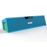 爱探客 无线蓝牙音响 免提通话 FM收音机立体声 U盘TF卡音乐播放 适用于手机/平板电 019蓝牙音箱-蓝色