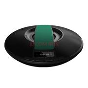 爱探客 无线蓝牙音响 免提通话 FM收音机立体声 U盘TF卡音乐播放 适用于手机/平板电脑 飞碟音箱-绿色