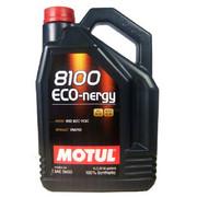 摩特(MOTUL) 8100 ECO-nergy 5W-30 酯类全合成汽车机油 5升/ 5L