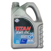 福斯 润滑油 保护每个分子 泰坦MC分子油5w-40 4L 合成机油