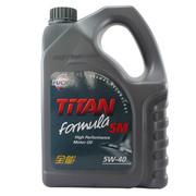 福斯 泰坦全能机油 5W-40 SM 4L 三类合成顶级机油 四季通用