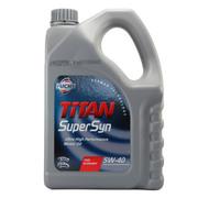 福斯 超级全合成机油SN 5w-40 4L抑制烧机油