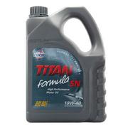 福斯 润滑油 泰坦超能半合成机油10W-40 SN 4L 单桶装