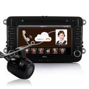 欧华 导航  DVD导航一体机 4G云导航 车载GPS导航 大众途锐 4G云导航+倒车后视 13款斯柯达明锐