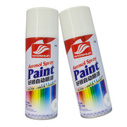 好顺(HAOSHUN) 自动喷漆 手喷漆涂鸦彩绘车漆 白色 H-1199 400ml*两支装