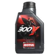 摩特(MOTUL) 300V4T 10W-40 酯类全合成 摩托车机油 1L