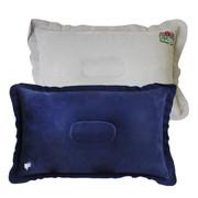 舜威(SHUNWEI) 伴君 充气腰靠 车用充气靠枕 充气枕头 旅行枕头 户外麂皮绒 蓝色