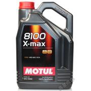 摩特(MOTUL) 法国 8100 X-MAX 0W-40 酯类全合成机油 5L SM