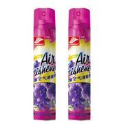 好顺(HAOSHUN) 空气清新剂 380ml*两支装 国际香型