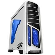 游戏悍将 刀锋特战豪华雪装 机箱 非对称设计 内藏读卡器 风扇调速功能