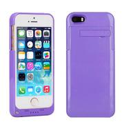 现代演绎 D5A 2200毫安 苹果iPhone5 5S专用充电宝手机壳 背夹电池 紫色 官方标配