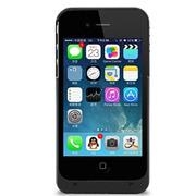 现代演绎 D4 1900毫安 苹果iPhone4 4S专用充电宝 手机壳 背夹电池 黑色 官方标配