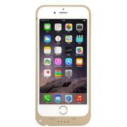 现代演绎 iPhone6/plus 背夹电池 苹果6 移动电源 备用电 充电宝手机壳 土豪金 D6B 5.5英寸