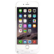 现代演绎 iPhone6/plus 背夹电池 苹果6 移动电源 备用电 充电宝手机壳 白色 D6B 5.5英寸