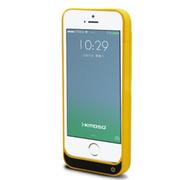 现代演绎 D5C 2200毫安 苹果iPhone5 5S 5C专用充电宝 手机壳 背夹电池 黄色 官方标配