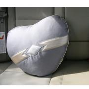 品尚车居 心型舒适抱枕 汽车抱枕 沙发抱枕 座椅抱枕 家居抱枕 单个装 炫风
