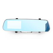 奥克龙 蓝镜 后视镜行车记录仪 4.3寸屏高清 汽车行驶记录仪 OK-08 蓝屏防炫目 16G高速卡