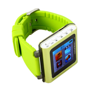 紫光电子 手表mp3  T361 8G mp4随身听音乐 智能运动手表腕表式 运动可爱MP3 绿色+送立体声耳机+充电器