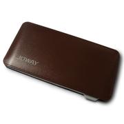 JOWAY 手机充电宝移动电源便携式聚合物移动电源6000毫安手机通用充电宝 棕色