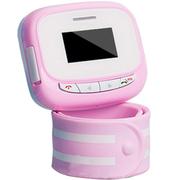 美创 儿童智能手表GPS定位防丢追踪手环男孩女孩防辐射手机腕表 粉红色