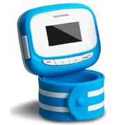 美创 儿童智能手表GPS定位防丢追踪手环男孩女孩防辐射手机腕表 浅蓝色