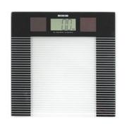 EKS 易健氏【】太阳能电子秤 电子称重体重秤 无需电池人体健康秤 8401 黑色
