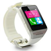 美创 苹果iphone6 plus智能手环三星超薄手表手机蓝牙手表可独立插SIM卡 白色