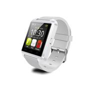 美创 苹果iPhone5s/6智能触控手表多功能音乐计步器遥控拍照 白色