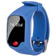 美创 儿童智能手表手环老人GPS定位手机个人追踪器苹果iPhone5s/6安卓通用 浅蓝色