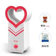 哥尔 GO-2085 迷你创意情侣款 香薰机 办公室静音 USB加湿器 红色+精油+除垢剂