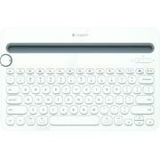罗技 K480 多功能蓝牙键盘 白色