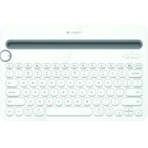 罗技 K480 多功能蓝牙键盘 白色产品图片主图