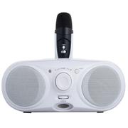 威尼徕 蓝牙音箱麦克风音响便携式扩音器唱戏机收音机
